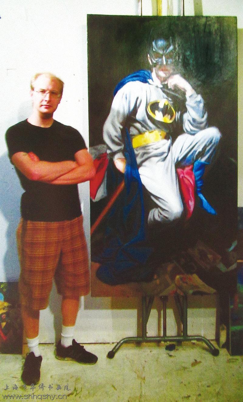 """创造现代生活中推崇的""""英雄人物""""介绍国外画家杰克约翰逊"""